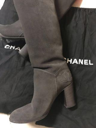 Chanel boots 長靴