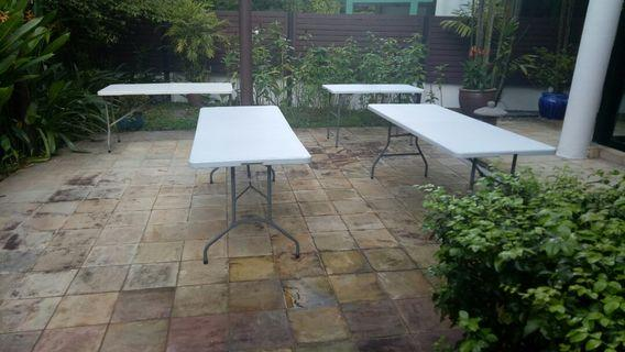 FOLDABLE TABLE 182CMX74X74 Used/New