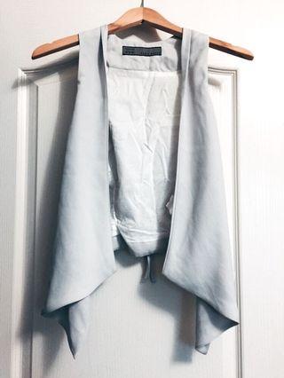 Zara Drape Vest