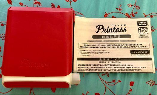 Takara Tomy Printoss (手機相片列印機)