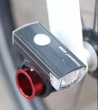 Bicycle Wheel Axle Quick Release Mount