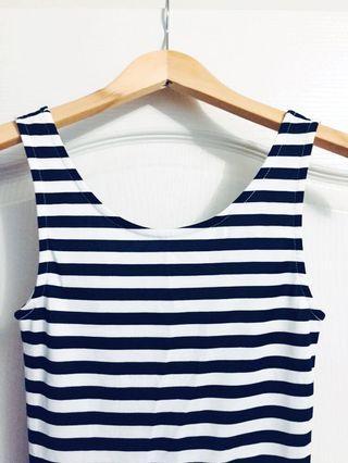 H&M Striped Dress XS