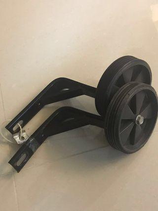 Training wheels bicycles