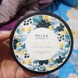 Milea organics blackhead removal powder