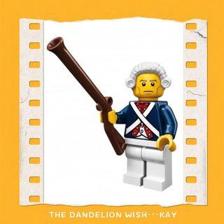 最後2️⃣隻📮包平郵⭐️71001 Lego Minifig Minifigures Series 10 Revolutionary Soldier