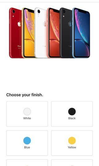 iPhone XR 128GB any color