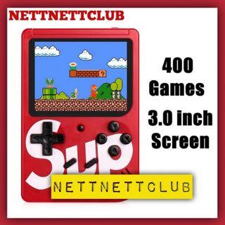 *NEW!* - 400 in 1 Retro Game / Mini Handheld / Emulator / Gaming Console / AV out to TV