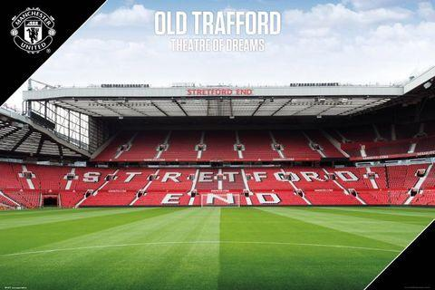 Poster Manchester United The Theatre of Dreams