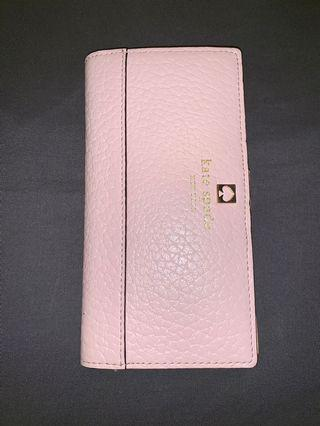 Kate Spade wallet - baby pink MINT condition