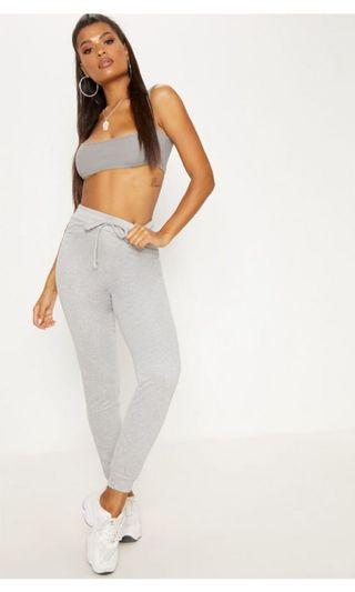 Pretty little thing grey track pants