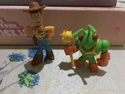 Toy Story 3 Woody and Twitch