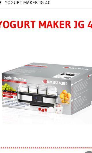 🚚 Rommelsbacher JG40 Yoghurt Maker