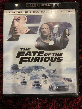 🚚 4K UHD The Fate of the Furious