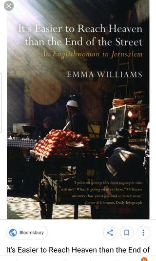 🚚 It's easier to reach heaven than the end of the street,  an Englishwoman in Jerusalem
