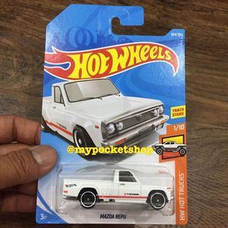 Hot Wheels MAZDA REPU PICKUP (White / HW Hot Trucks)