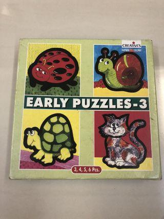 Early puzzles (3 set)