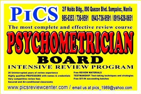 Psychometrician Review center