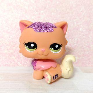 Littlest Pet Shop lps rare sparkle persian cat