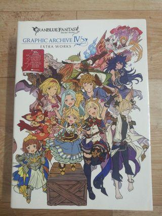 RM100 Granblue Fantasy Archive IV (Extra Works) Good Condition