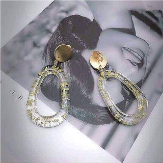 🚚 Japanese earrings - earclips (clip on)