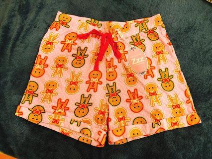 Peter Alexander gingerbread shorts