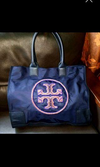 Ella Beaded Nylon Tote by Tory Burch