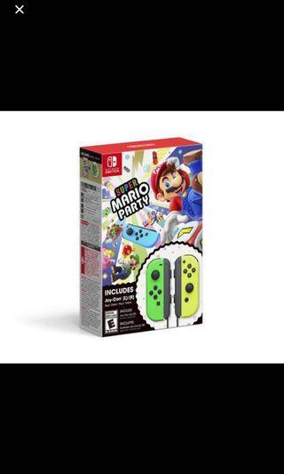 nintendo Switch Limited Sets Joycon & Games