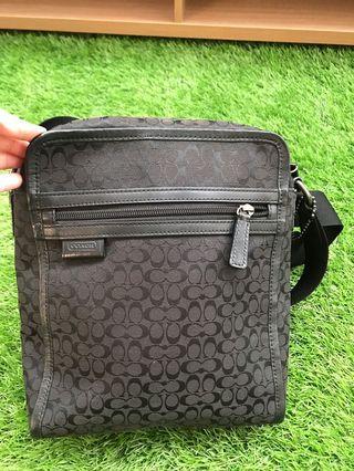Coach man sling bag original