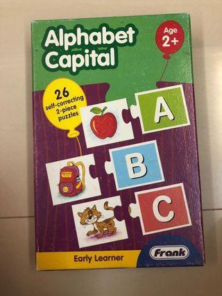Puzzle - alphabet capital