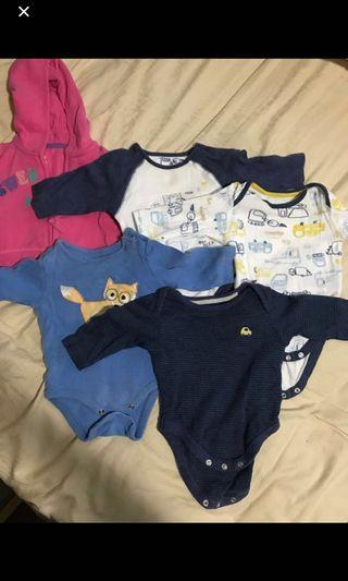 🚚 Baby Rompers - long sleeved (4kg to 6kg)