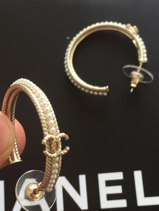 正品Chanel earrings 耳環