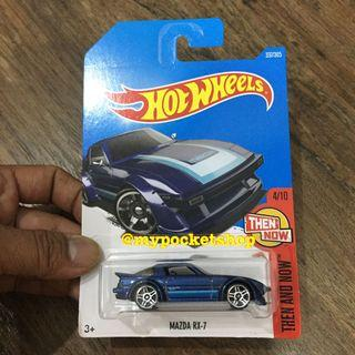 Hot Wheels MAZDA RX-7 (Blue / Then and Now)
