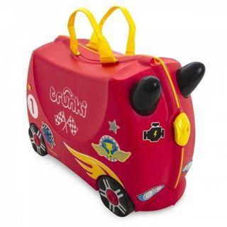 🚚 BNIB Trunki Luggage Rocco Race Car