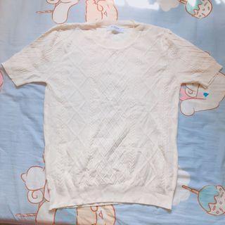麻花上衣 made in Korea