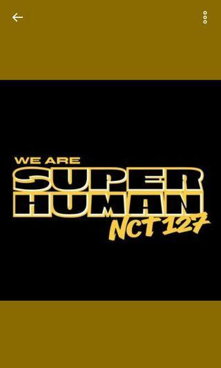NCT 127 SUPERHUMAN ALBUM unsealed