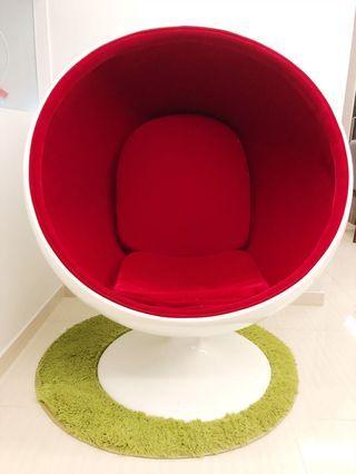 Designer ball chair