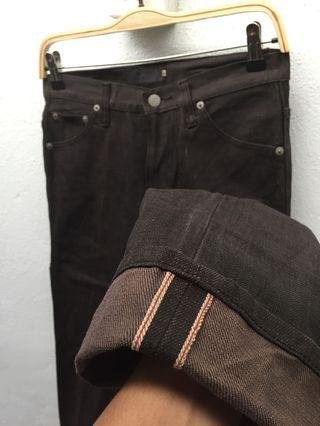 Smear Selvedge Denim