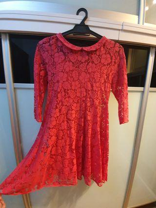 Topshop Lace Tunic
