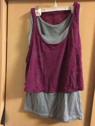 Maroon shirt (s)
