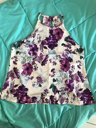 Floral top / baju bunga