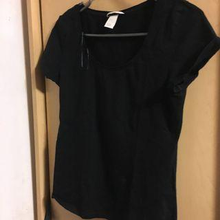 Black H&M T-shirt (m)