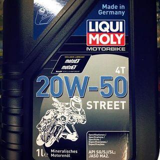 Y15ZR / RS150 / LC135 (LIQUI MOLY) 100% Genuine 4T Oil