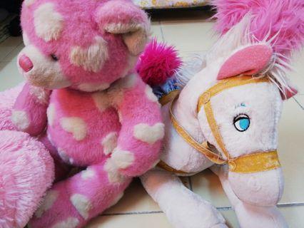 Soft toy 2pcs