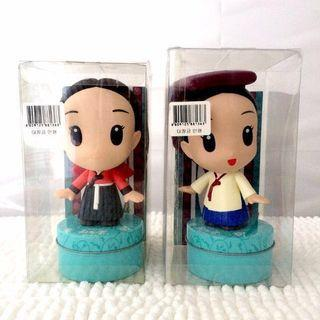 [NEW] Dae Jang Geum Character Figurines/Tin Containers