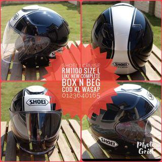 shoei j cruise helmet