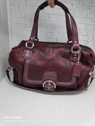 Coach bag maroon