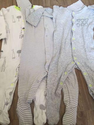 Mothercare Sleepsuit 3months (ukurannya besar)
