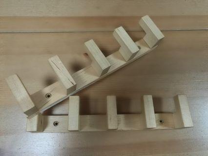 Ikea Molger Birch hanger hook 宜家 桦木 木製掛衣架