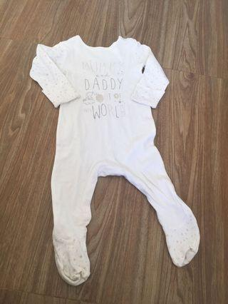 Mothercare sleep suit