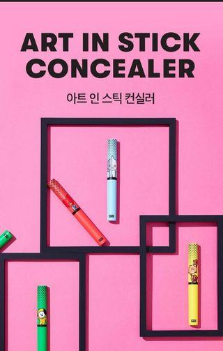 BT21 ART IN STICK CONCEALER